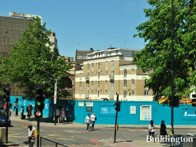 Marble Arch House site in May 2012.