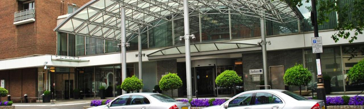 Radisson Blu Portman Hotel in Marylebone, London W1.