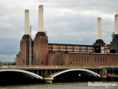 The Battersea Power Station in July 2010