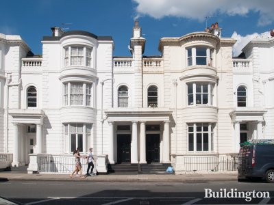 66 Gloucester Terrace building in Bayswater, London W2.