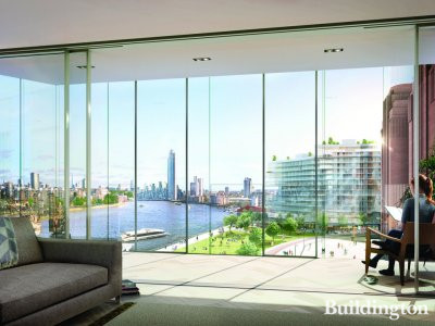 Battersea Power Station apartment view