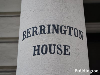 Berrington House on Hereford Road