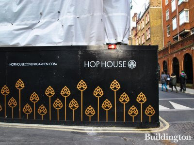 Hop House development in Covent Garden.
