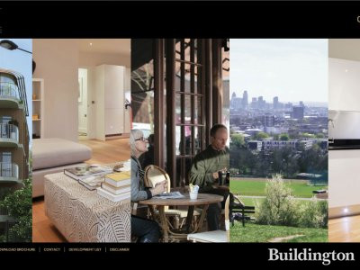 Screen capture of The Mill Apartments website at millapartmentshampstead.co.uk