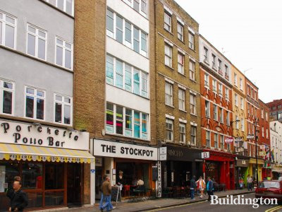 16 Old Compton Street building in 2009.