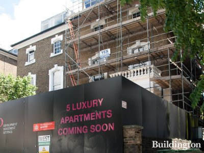 5 new luxury apartments coming soon - 236 Camden Road in June 2014.