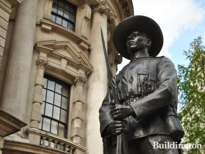 Monument to the Gurkha Soldier in Horse Guards Avenue