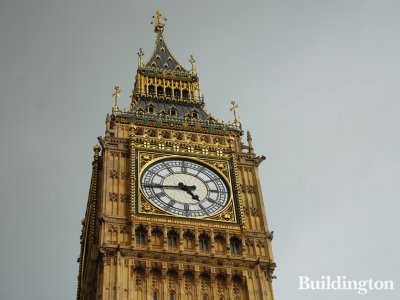 The Clock Tower, known as Big Ben