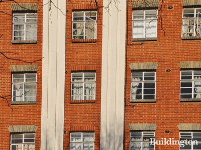 South facing windows on Orsett Terrace.