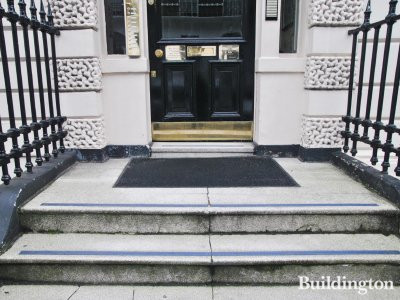 Stairs to 110 Harley Street