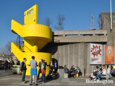 Southbank Centre, stairs to the garden.