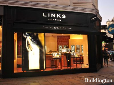 Links of London shop on the ground floor
