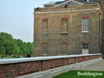 Kensington Palace - view from north
