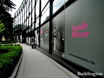 Jamie's Italian has taken a 7,900 sq ft (730m2). retail unit at the recently completed Angel Building.