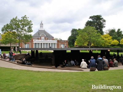 Serpentine Gallery Pavilion 2012 by Herzog & de Meuron and Ai Weiwei.