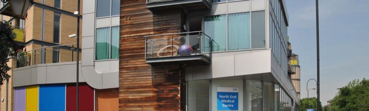 North End Medical Centre in West Kensington.