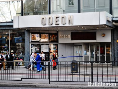 Odeon in the existing building. Entrance on Edgware Road.