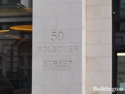 Fitzrovia Apartments at 50 Bolsover Street, London W1.