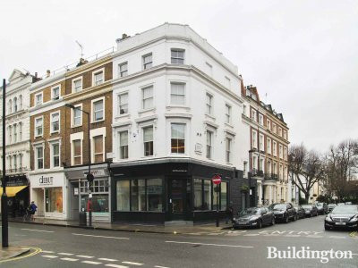 Estate agent Domus Nova setting up business at 78 Westbourne Grove