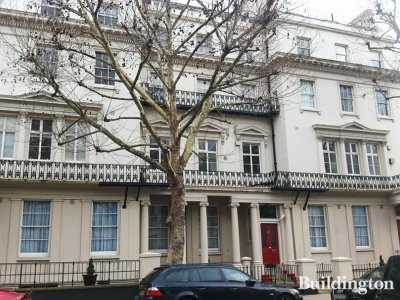 22 Craven Hill in Bayswater, London W2.
