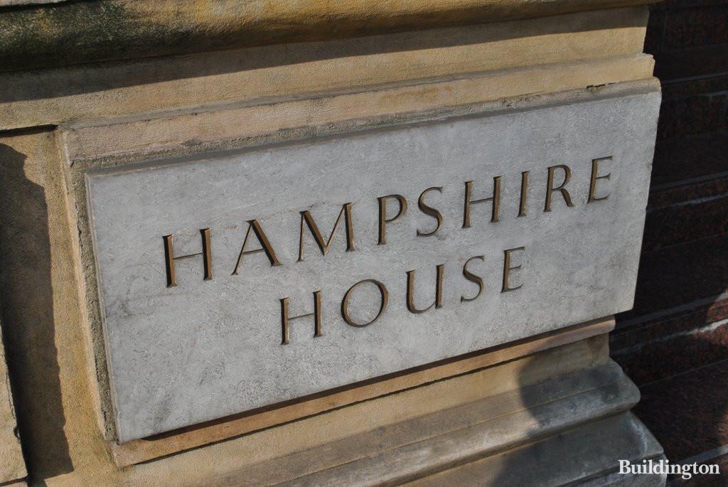 Hampshire House Hyde Park Place W2 2lh Buildington