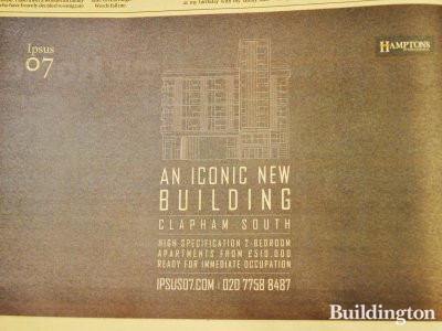 Ipsus07 advertisement in Homes & Property, Evening Standard 6. February 2013