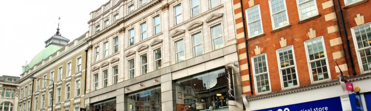 Paperchase store at 213-215 Tottenham Court Road
