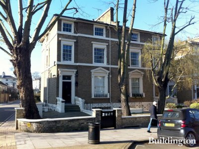 13 Warwick Avenue in London W9.