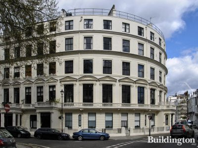 1 Cleveland Square. Photo of the exterior after it was repainted in December 2013.