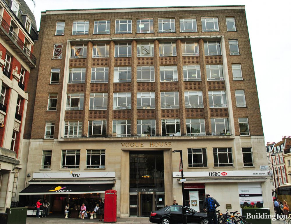 Vogue House - Hanover Square W1S 1JU | Buildington