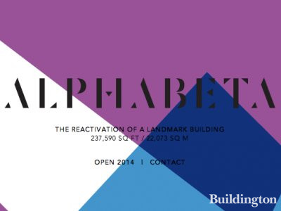 Screen capture of the Alphabeta Building development website at www.alphabeta.com.