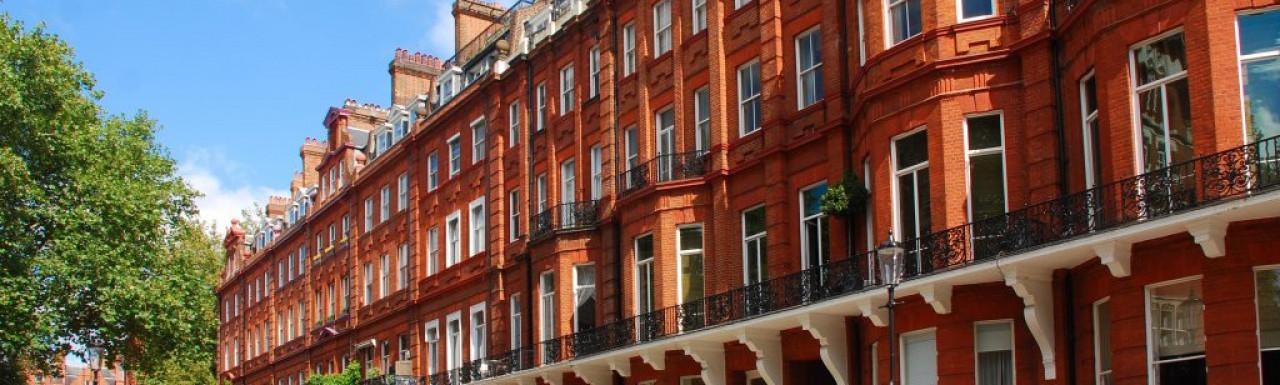 19 Cadogan Square terraced house in Belgravia, London SW1.