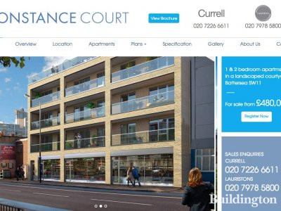 Screen capture of Constance Court website at Constancecourt.com