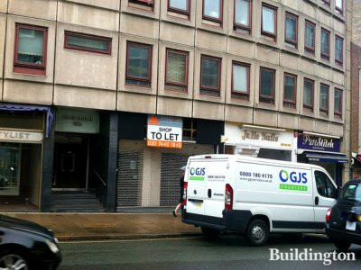 Shop to let at Olaf Court in July 2012 (agents Jenkins Law)