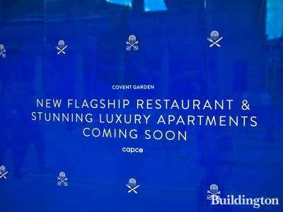 The Beecham - New flagship restaurant and stunning luxury apartments coming soon - Capco at 1a Henrietta Street.