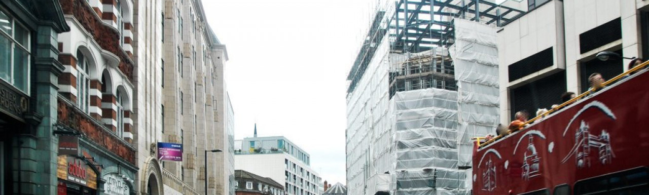 View to 8 Artillery Road development from Victoria Street.