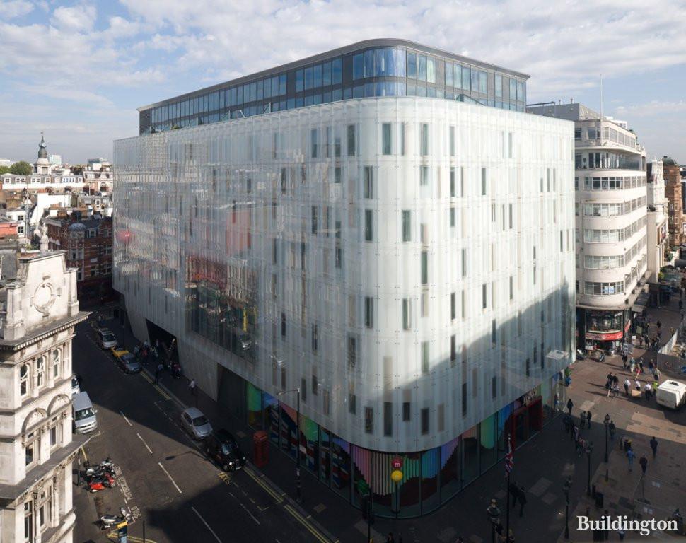 W London Leicester Square Wardour Street W1d 6qf Buildington
