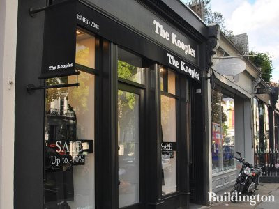The Kooples at 198 Westbourne Grove.