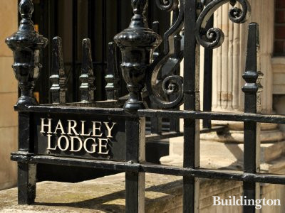 Harley Lodge railings.