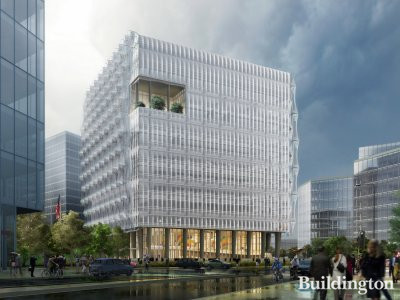 Visual of the new embassy