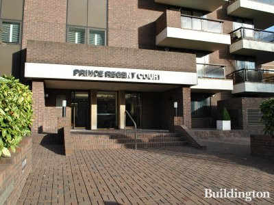 Entrance to Prince Regent Court.