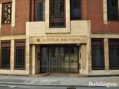 20 Little Britain entrance
