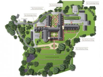 St Joseph's Gate site map on the development website www.stjosephsgate.co.uk