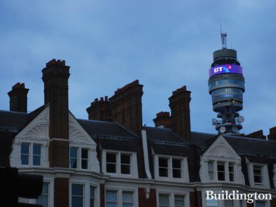 BT Tower in 2010