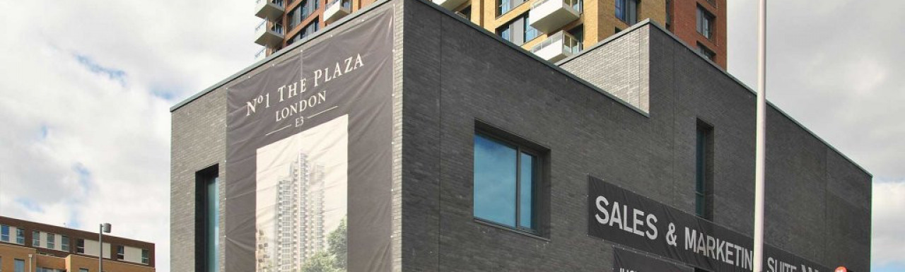 No 1 The Plaza sales and marketing suite
