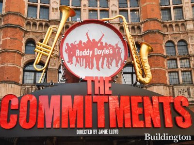 The Commitments at Palace Theatre in February 2014