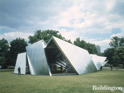 Serpentine Gallery Pavilion 2001 Designed by Daniel Libeskind with Arup