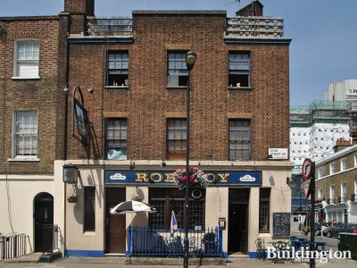 Rob Roy pub at 8-9 Sale Place in Bayswater, London W2.