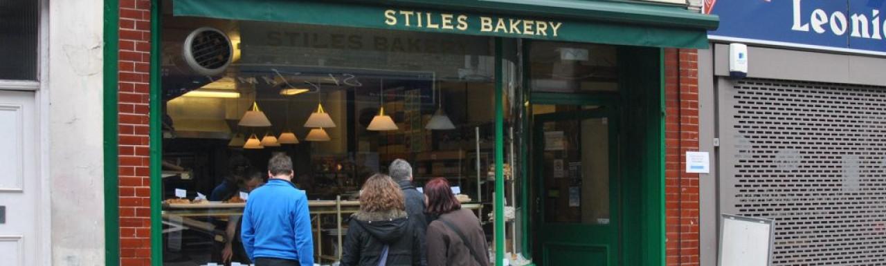 Popular Stiles Bakery at 6 Strutton Ground.