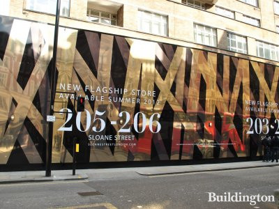 New flagship store available 205-206 Sloane Street in Summer 2012 www.sloanestreet.com. For further information contact CBRE or Nash Bond.